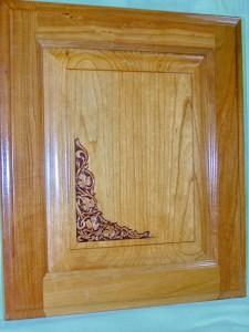 Custom Engraved Cabinet Doors